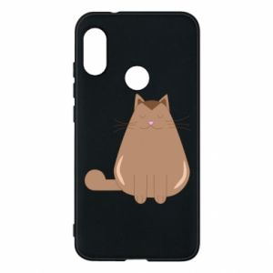 Etui na Mi A2 Lite Relaxing cat