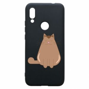 Etui na Xiaomi Redmi 7 Relaxing cat