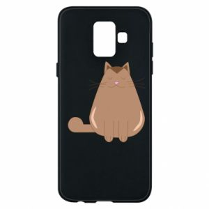 Etui na Samsung A6 2018 Relaxing cat