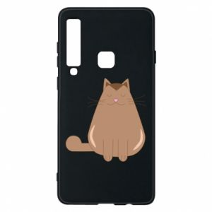 Etui na Samsung A9 2018 Relaxing cat