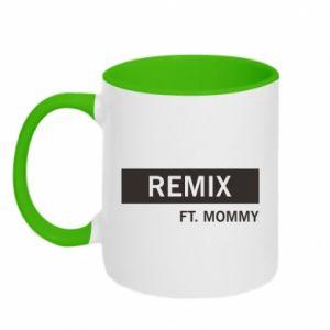 Kubek dwukolorowy Remix