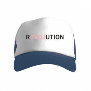 Czapka trucker dziecięca Revolution