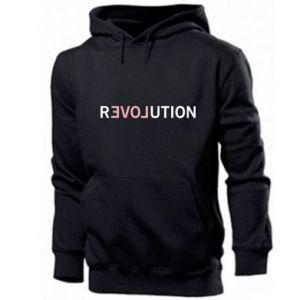 Męska bluza z kapturem Revolution