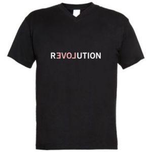 Męska koszulka V-neck Revolution