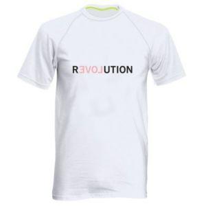 Męska koszulka sportowa Revolution