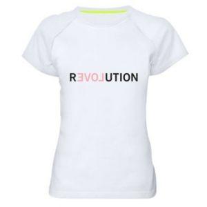 Damska koszulka sportowa Revolution