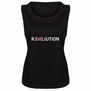 Damska koszulka bez rękawów Revolution
