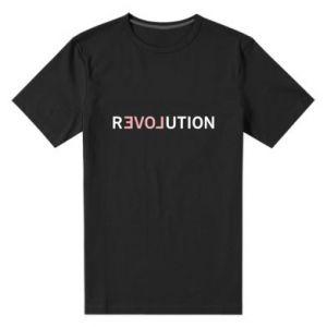 Męska premium koszulka Revolution