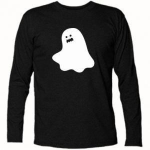 Long Sleeve T-shirt Ridiculous ghost - PrintSalon