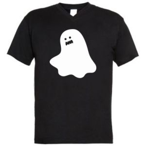 Men's V-neck t-shirt Ridiculous ghost