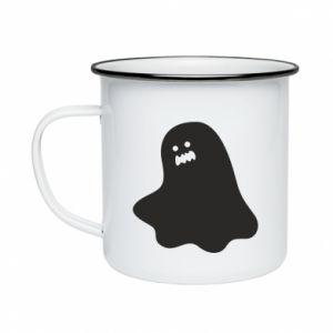 Kubek emaliowany Ridiculous ghost