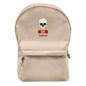 Plecak z przednią kieszenią Rip my youth