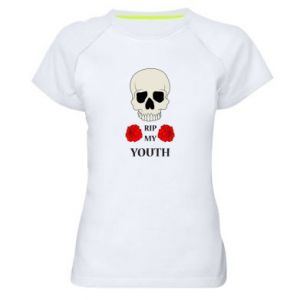 Koszulka sportowa damska Rip my youth