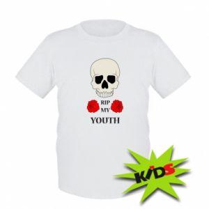Kids T-shirt Rip my youth