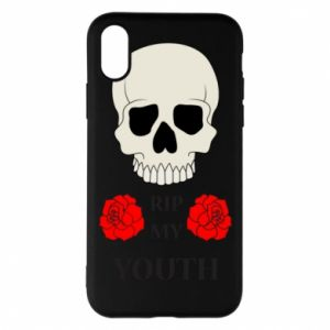 Phone case for iPhone X/Xs Rip my youth