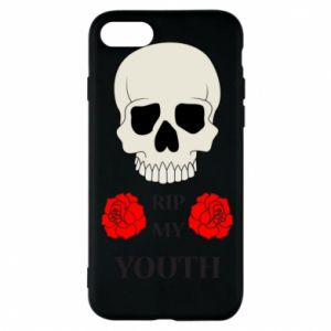 Phone case for iPhone 8 Rip my youth