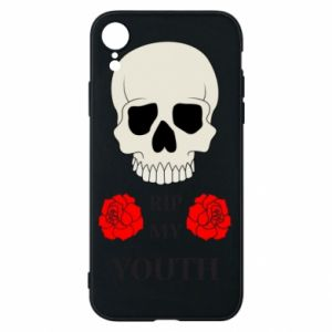 Phone case for iPhone XR Rip my youth