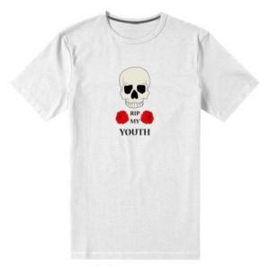 Męska premium koszulka Rip my youth