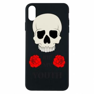 Phone case for iPhone Xs Max Rip my youth