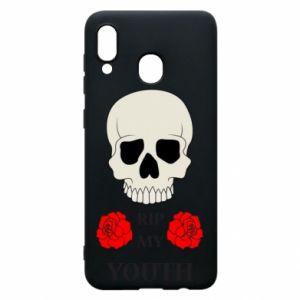 Phone case for Samsung A20 Rip my youth