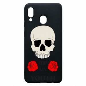 Phone case for Samsung A30 Rip my youth