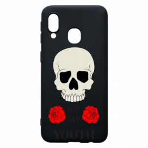 Phone case for Samsung A40 Rip my youth