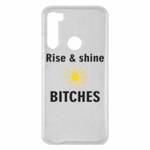 Etui na Xiaomi Redmi Note 8 Rise and shine bitches