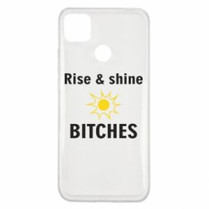 Etui na Xiaomi Redmi 9c Rise and shine bitches