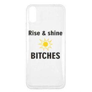 Etui na Xiaomi Redmi 9a Rise and shine bitches