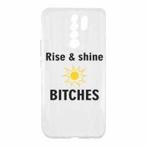Etui na Xiaomi Redmi 9 Rise and shine bitches