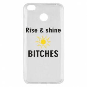 Etui na Xiaomi Redmi 4X Rise and shine bitches