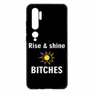 Etui na Xiaomi Mi Note 10 Rise and shine bitches