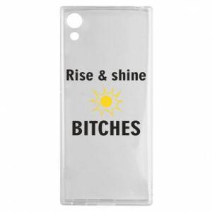 Etui na Sony Xperia XA1 Rise and shine bitches