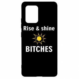 Etui na Samsung S10 Lite Rise and shine bitches