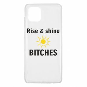 Etui na Samsung Note 10 Lite Rise and shine bitches