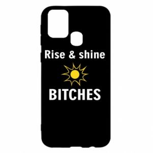 Etui na Samsung M31 Rise and shine bitches
