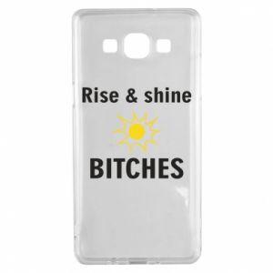 Etui na Samsung A5 2015 Rise and shine bitches