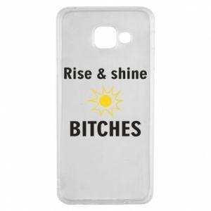 Etui na Samsung A3 2016 Rise and shine bitches