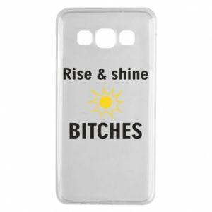 Etui na Samsung A3 2015 Rise and shine bitches
