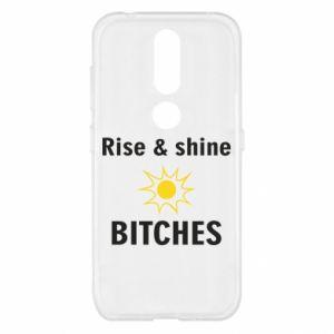 Etui na Nokia 4.2 Rise and shine bitches