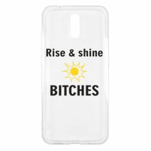 Etui na Nokia 2.3 Rise and shine bitches