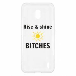 Etui na Nokia 2.2 Rise and shine bitches