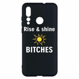 Etui na Huawei Nova 4 Rise and shine bitches