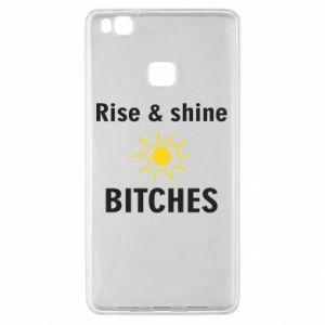 Etui na Huawei P9 Lite Rise and shine bitches
