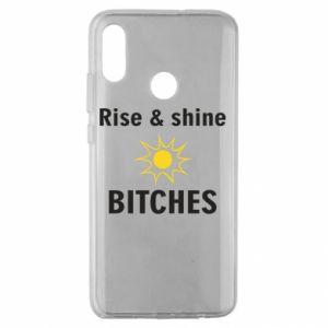 Etui na Huawei Honor 10 Lite Rise and shine bitches
