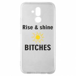 Etui na Huawei Mate 20 Lite Rise and shine bitches