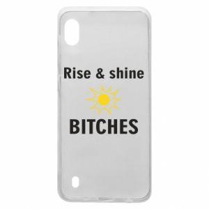 Etui na Samsung A10 Rise and shine bitches
