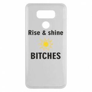 Etui na LG G6 Rise and shine bitches