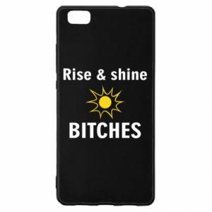 Etui na Huawei P 8 Lite Rise and shine bitches