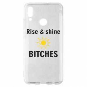 Etui na Huawei P Smart 2019 Rise and shine bitches